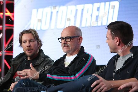 Dax Shepard, Rob Corddry and Jethro Bovingdon