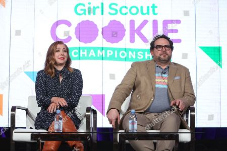 Editorial picture of 'Girl Scout Cookie Championship' TV show, Discovery Network, TCA Winter Press Tour, Panels, Los Angeles, USA - 16 Jan 2020