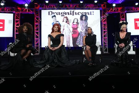 Editorial picture of 'Dragnificent' TV show, Discovery Network, TCA Winter Press Tour, Panels, Los Angeles, USA - 16 Jan 2020