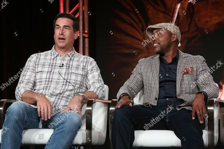 Rob Riggle and Will Packer
