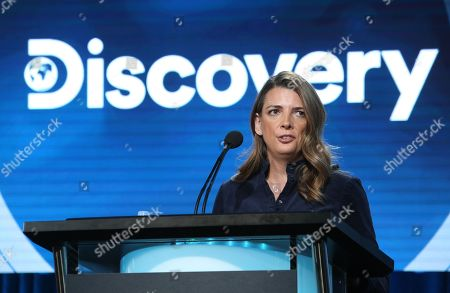 Chief Brand Officer, Discovery, Nancy Daniels