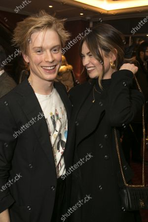 Freddie Fox and Lily James