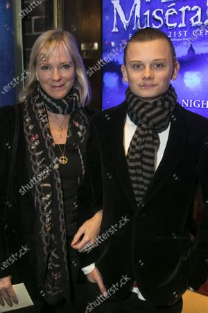 Hermione Norris and Wilf Wheeler