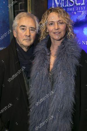 Stock Photo of Denis Lawson and Karen Prentice