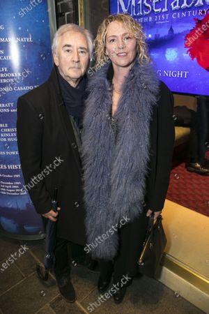 Stock Picture of Denis Lawson and Karen Prentice