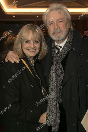 Stock Photo of Twiggy Lawson and Leigh Lawson