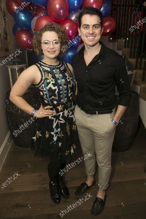 Stock Picture of Carrie Hope Fletcher (Fantine) and Oliver Ormson