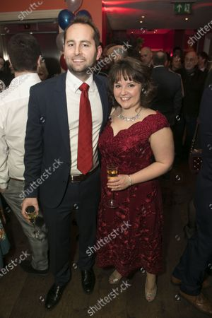 Hugh de la Bedoyere and Sarah Lark (Swing/Dance Captain)