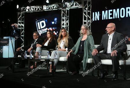 Editorial picture of 'In Memoriam' TV show, Discovery Network, TCA Winter Press Tour, Panels, Los Angeles, USA - 16 Jan 2020