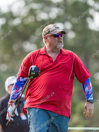 Lake Buena Vista, FL, U.S: Comedian and Actor Larry The Cable Guy during 1st round of Diamond Resorts Tournament of Champions Presented by Insurance Office of America held at Tranquilo Golf Course at Four Seasons Golf and Sports Club Orlando in Lake Buena Vista, Fla