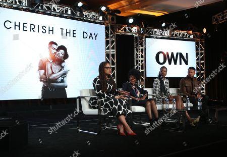 Ava DuVernay, Cicely Tyson, Xosha Roquemore and Alano Miller