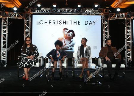 Stock Picture of Ava DuVernay, Cicely Tyson, Xosha Roquemore and Alano Miller