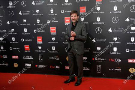 Antonio de la Torre attends the 2020 Premios Feroz (Feroz Awards) ceremony at the Teatro Auditorio Ciudad de Alcobendas in Madrid, Spain, 16 January 2020.