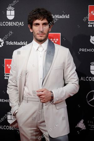 Quim Gutierrez attends the 2020 Premios Feroz (Feroz Awards) ceremony at the Teatro Auditorio Ciudad de Alcobendas in Madrid, Spain, 16 January 2020.