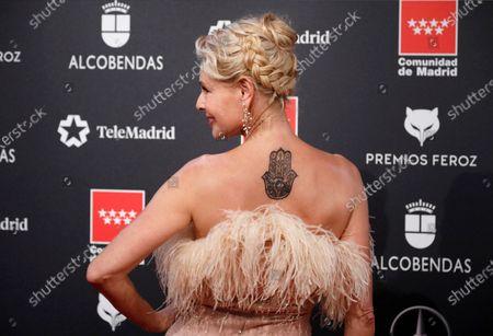 Belen Rueda attends the 2020 Premios Feroz (Feroz Awards) ceremony at the Teatro Auditorio Ciudad de Alcobendas in Madrid, Spain, 16 January 2020.