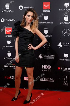 Leticia Dolera attends the 2020 Premios Feroz (Feroz Awards) ceremony at the Teatro Auditorio Ciudad de Alcobendas in Madrid, Spain, 16 January 2020.