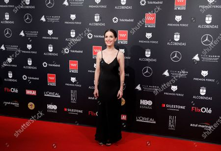 Stock Picture of Laia Marull attends the 2020 Premios Feroz (Feroz Awards) ceremony at the Teatro Auditorio Ciudad de Alcobendas in Madrid, Spain, 16 January 2020.