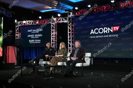 Matt McCooey, Ashley Jensen and Barry Ryan