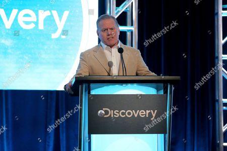 Editorial image of 2020 Winter TCA - Discovery Network, Pasadena, USA - 16 Jan 2020