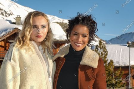 Chloe Jouannet and Sabrina Ouazani