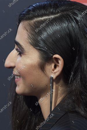 Stock Image of Alba Flores, jewellery detail