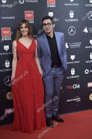 Stock Photo of Eva Ugarte and Berto Romero