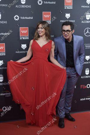 Stock Image of Eva Ugarte and Berto Romero