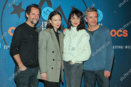 Stephane De Groodt, Elsa Zylberstein, Melissa Drigeard and Vincent Juillet