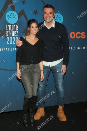 Melanie Bernier and Arnaud Ducret