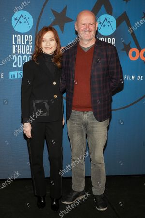 Isabelle Huppert and Jean Paul Salome