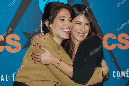 Stock Photo of Laurie Cholewa and Helene Mannarino