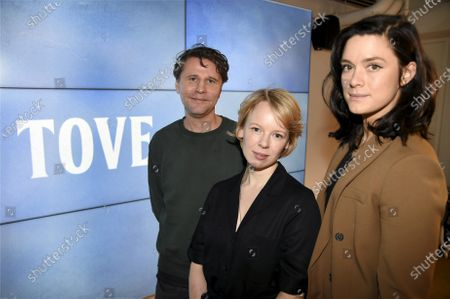 Editorial picture of 'Tove' film photoshoot, Helsinki, Finland - 16 Jan 2020