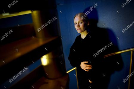 Stock Photo of Laura Birn is Helene Schjerfbeck. Also known for her roles in the Purge, The Ones Below, Tyhjiö, A Walk among the Tombstones and is now filming Asimov`s Foundation TV-series.