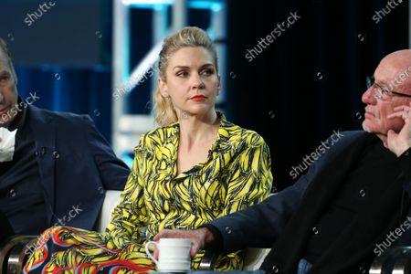 Rhea Seehorn and Jonathan Banks