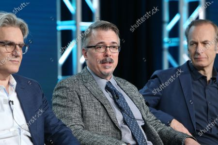 Peter Gould, Vince Gilligan and Bod Odenkirk