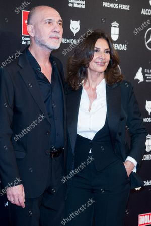 Stock Picture of Dario Grandinetti and Pastora Vega