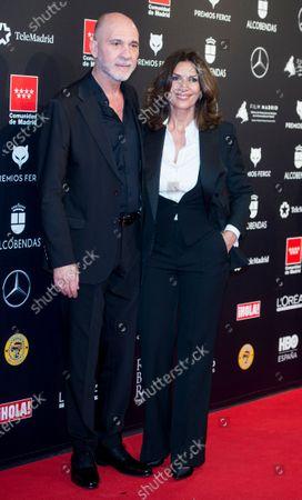 Dario Grandinetti and Pastora Vega