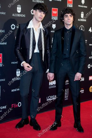 Stock Photo of Javier Calvo and Javier Ambrossi