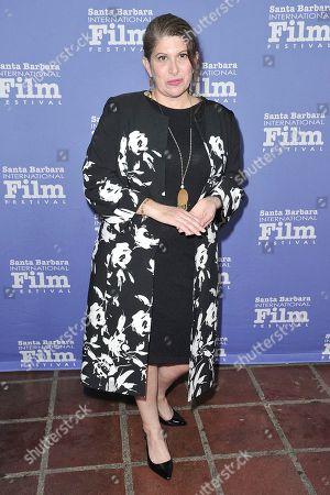 Stock Picture of Lisa Black attends the 2020 Santa Barbara International Film Festival American Riviera Award, in Santa Barbara, Calif