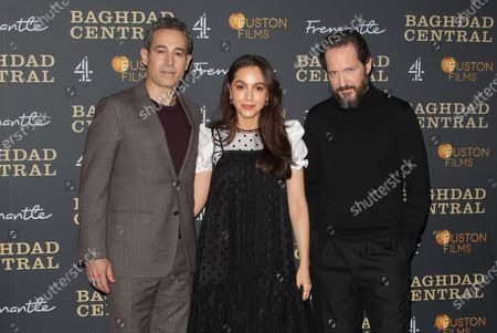 Waleed Zuaiter, July Namir and Bertie Carvel attend the launch screening of a new Channel 4 series at the BFI, Southbank