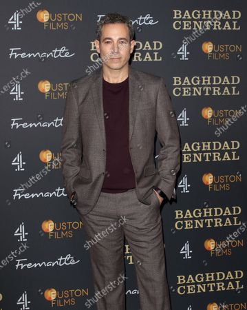 Stock Image of Waleed Zuaiter attends the launch screening of a new Channel 4 series at the BFI, Southbank
