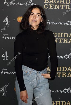 Leem Lubany attends the launch screening of a new Channel 4 series at the BFI, Southbank