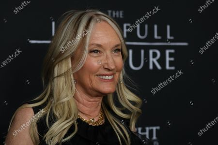 Margaret DeVogelaere, wife of late actor Peter Fonda, poses on the red carpet prior to the premiere of the film 'The Last Full Measure', at Arclight Hollywood in Hollywood, California, USA, 16 January 2020.