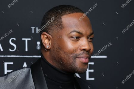 Ser'Darius Blain poses on the red carpet prior to the premiere of the film 'The Last Full Measure', at Arclight Hollywood in Hollywood, California, USA, 16 January 2020.