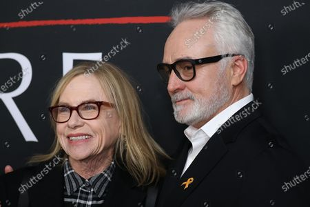 Amy Madigan (L) and and US actor Bradley Whitford (R) pose on the red carpet prior to the premiere of the film 'The Last Full Measure', at Arclight Hollywood in Hollywood, California, USA, 16 January 2020.