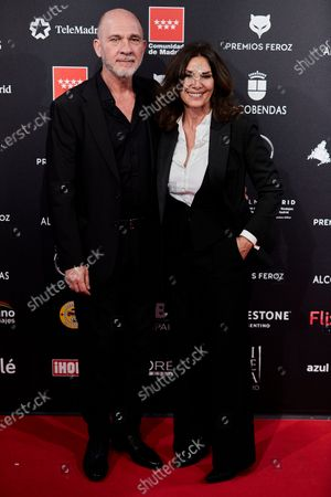 Stock Picture of Dario Grandinetti and Pastora Vega