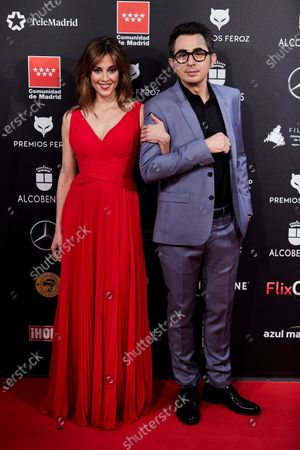 Stock Picture of Eva Ugarte and Berto Romero