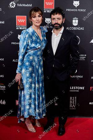 Marta Nieto and Rodrigo Sorogoyen