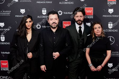 Alba Flores, Alvaro Morte and guests