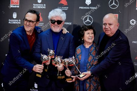 Editorial picture of Feroz Film Awards, Madrid, Spain - 16 Jan 2020
